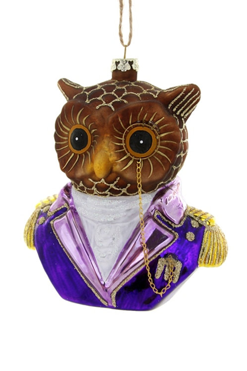 Well-Dressed  OWL Ornament