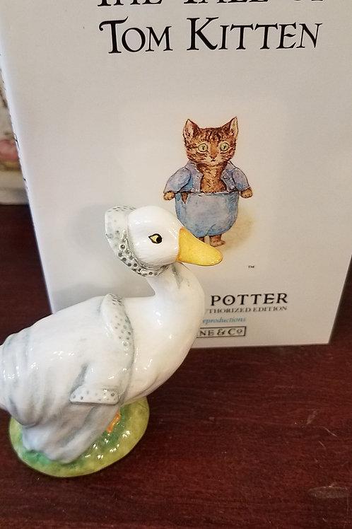 Rebeccah Puddle-Duck, Beatrix Potter Figurine BP-6