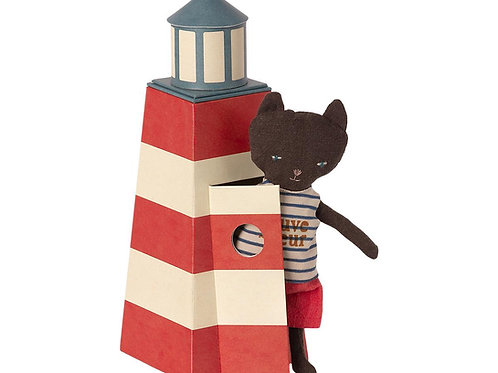 Maileg Lighthouse Lifeguard Cat: Pre-Order Spring 2021 Catalog