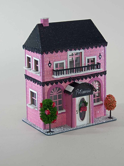 Katherine's Collection Pink Paris Holiday French Patisserie Paper House