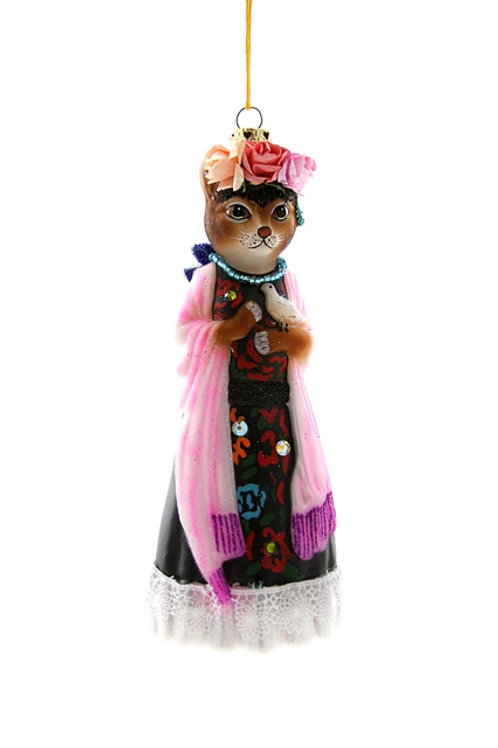 Well-Dressed  FRIDA CATLO Ornament