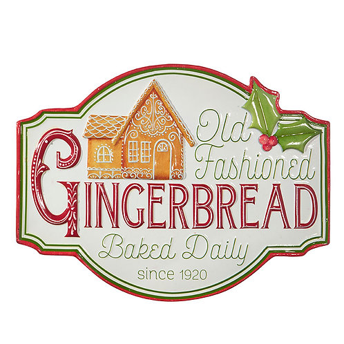 """18"""" OLD FASHIONED GINGERBREAD SIGN"""