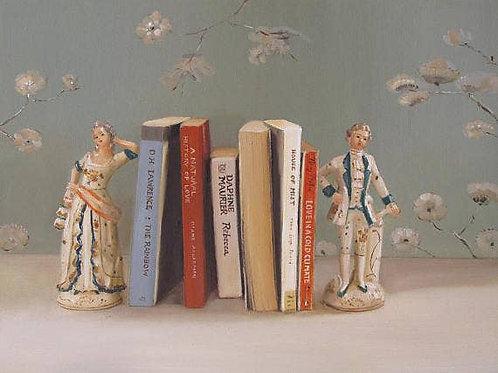 """Janet Hill Art Print:  Love Affair, 8.5""""x11"""""""
