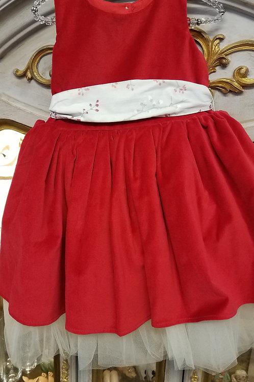 Velvet and Tulle Holiday Dress