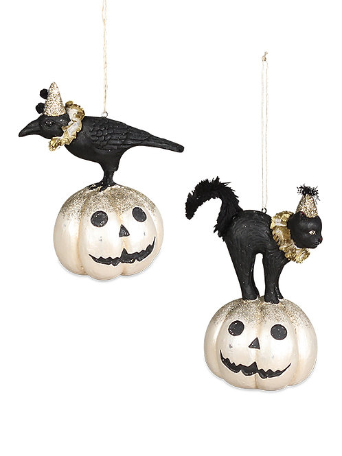 Bethany Lowe All Hallow's Eve Friends Ornament