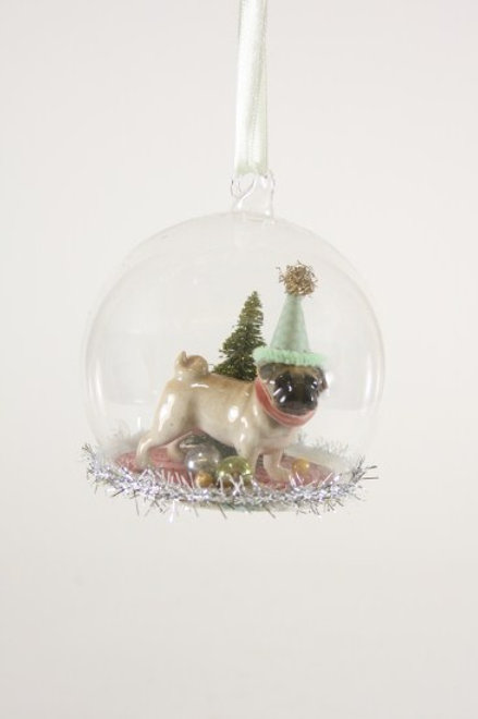 Ornament Party Pug