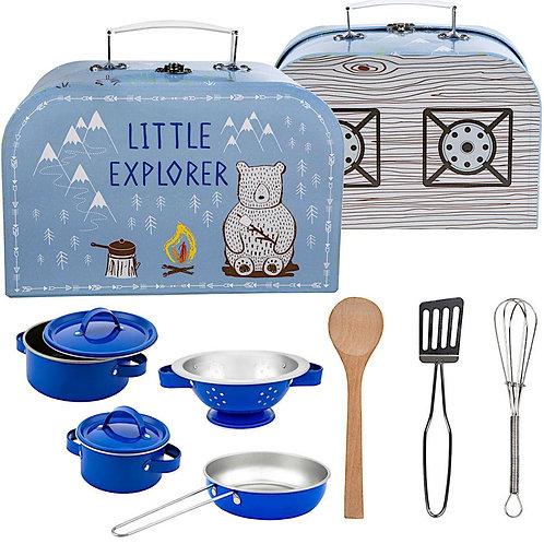 Bear Camp Play Cooking Set