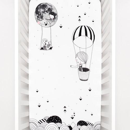 Frieda & The Balloon Crib Sheet
