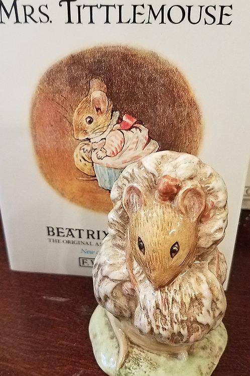 Thomasina Tittlemouse: Beatrix Potter Figurine BP-3b