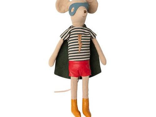 Maileg  Medium Super hero Boy Mouse, Winter 2020 Collection