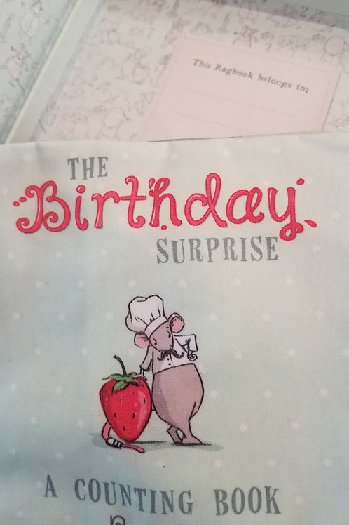The Birthday Surprise: Boxed Rag Book