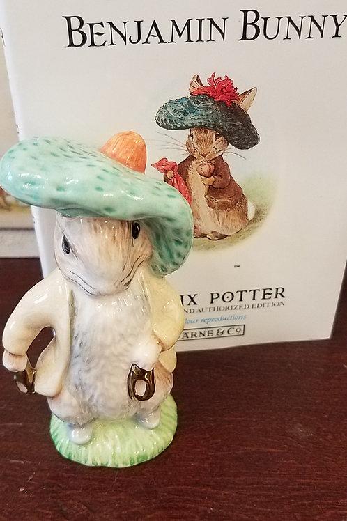 Benjamin Bunny: Beatrix Potter Figurine BP-9d