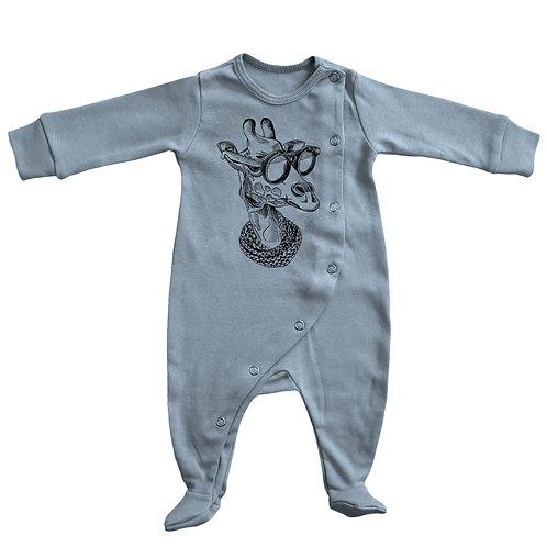 Baby Footie Pajama: Giraffe