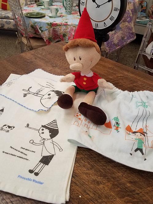 Shinzi Katoh Pinocchio Hand Towel