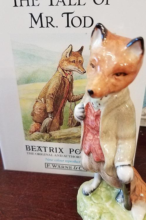 Mr Tod: Beatrix Potter Figurine BP-6