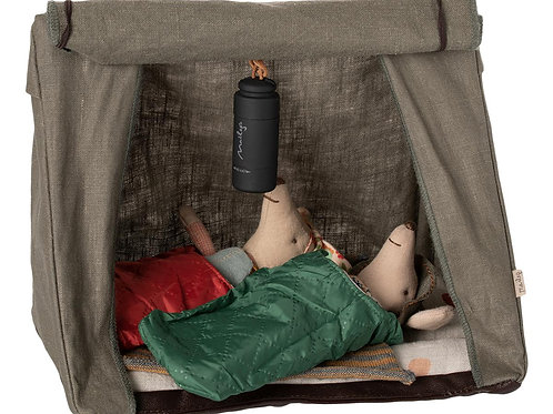 Maileg Hiker Mice Bundle, Camping Tent with Hiker Mice