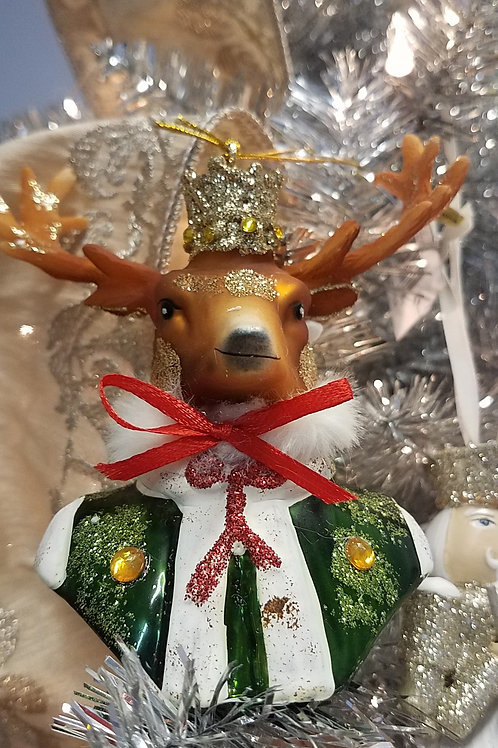 Well-Dressed  STAG Ornament