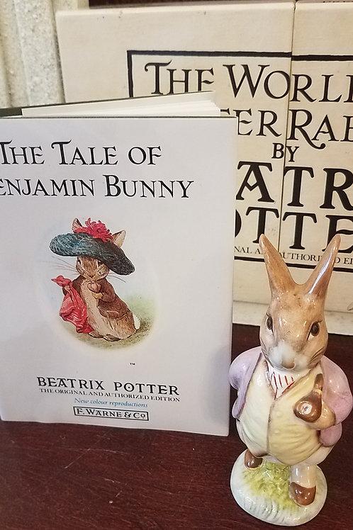 Mr. Benjamin Bunny: Beatrix Potter Figurine BP-3b
