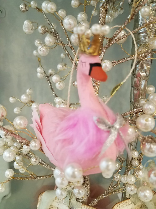 Ornament Pink Swan