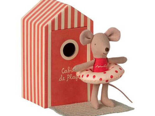 Maileg Little Sister Mouse at the Beach: Pre-Order Spring 2021 Catalog