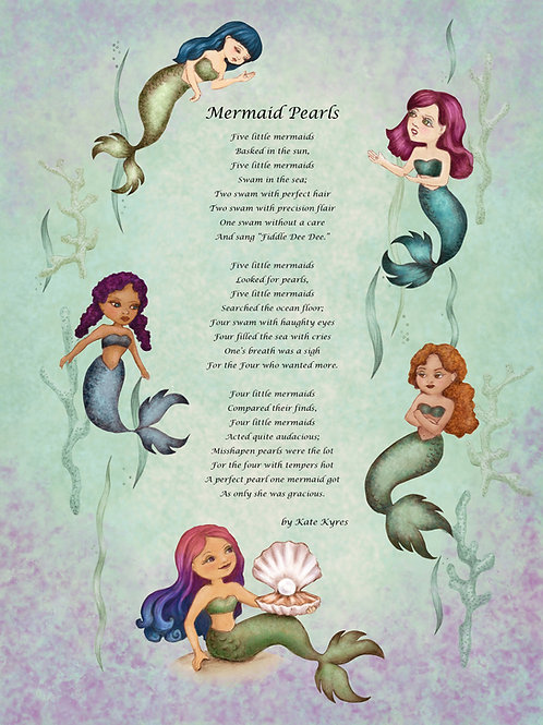 Mermaid Pearl Manners Tea Party: Sunday, June 6, 2021