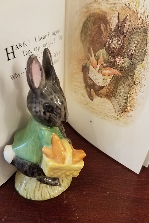 Little Black Rabbit: Beatrix Potter Figurine BP-3b