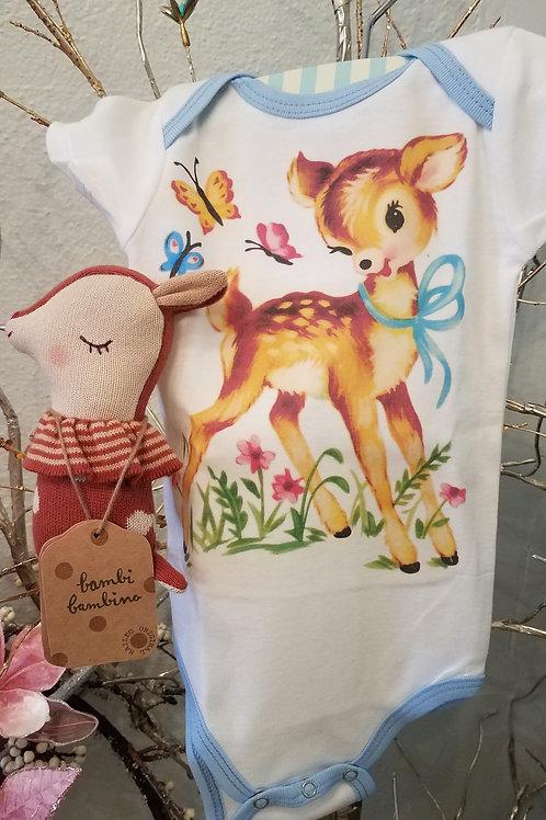 Vintage Deer Baby Gift