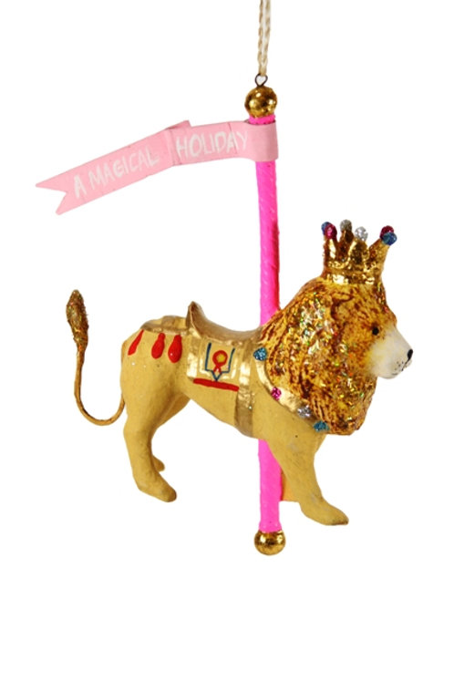 Ornament Carousel Lion