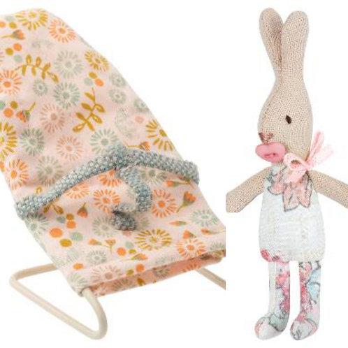 My Rabbit in Babysitter Bouncy Chair
