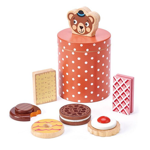 Tender Leaf  Toys Bear's Biscuit Barrel
