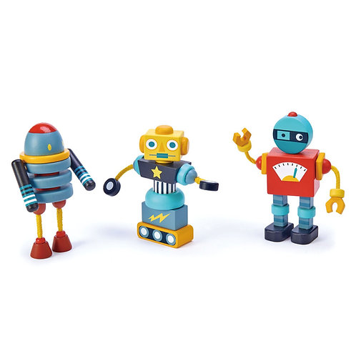 Tender Leaf  Toys Robot Construction