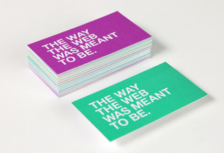 Stacked Business Cards