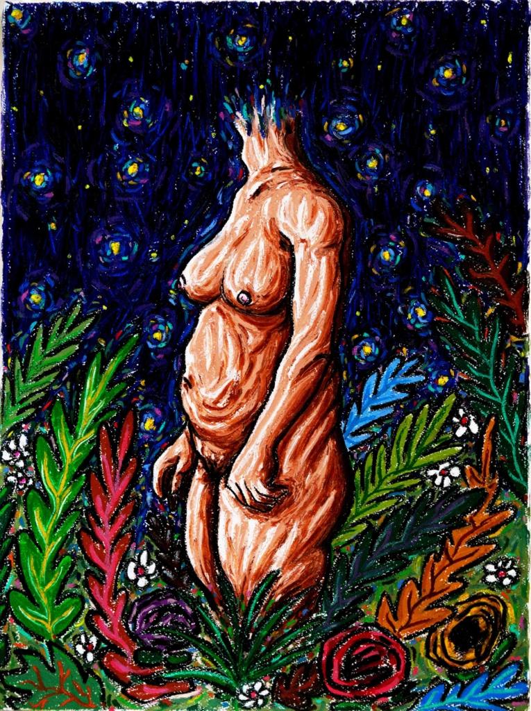 « Femme aux fleurs »