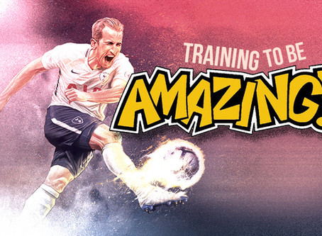 TRAINING TO BE AMAZING