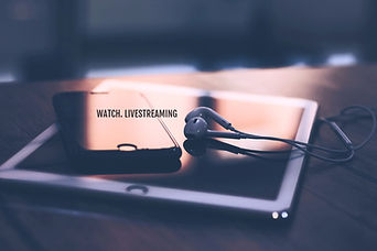 Livestream iPad, iPhone, Headphones