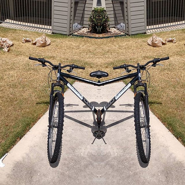 A bike for 2 when she won't let u drive_