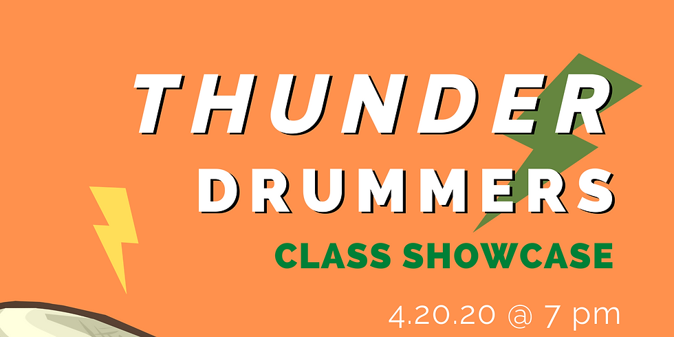 Thunder Drummers Class Showcase