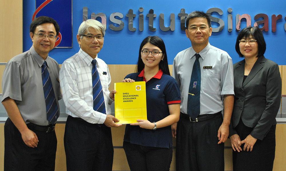 Shell Scholarship 2014-Tsen Siaw Ling
