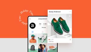 Commerce électronique de marketing Instagram