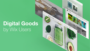 Unique Digital Products Sold by Wix Users
