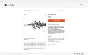 Artodu eCommerce website.