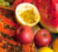 frutas do Café pousada chaday