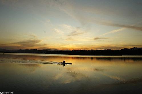 Quadro da Lagora de Ibiraquera
