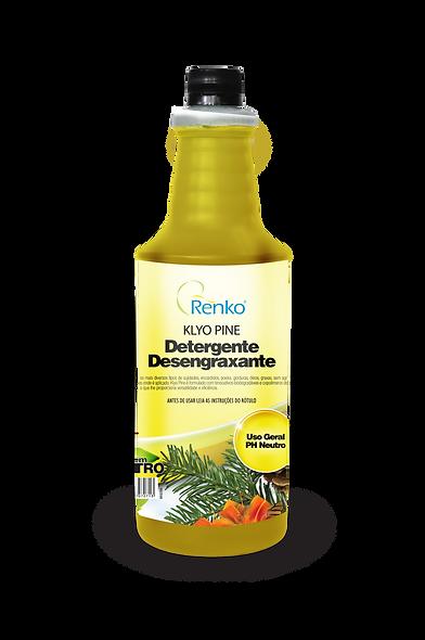 KLYO PINE Detergente Desengraxante 1L Diluição 1:200
