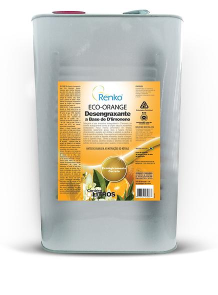 ECO ORANGE Desengraxante Bio a Base de D'Limoneno 1L Diluição 1:40