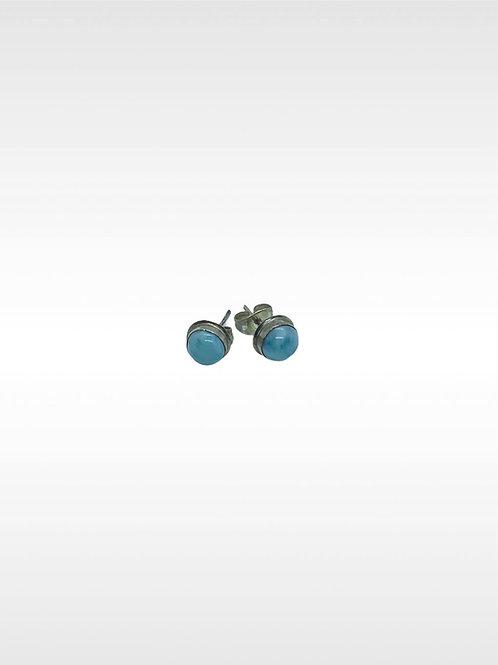 Larimar 925 silver Earrings