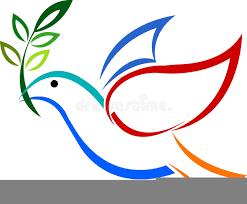 Dove representing the Holy Spirit