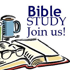 Open Bible, a pair of eyeglasses and a cup of coffee