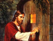 Jesus knocking on door