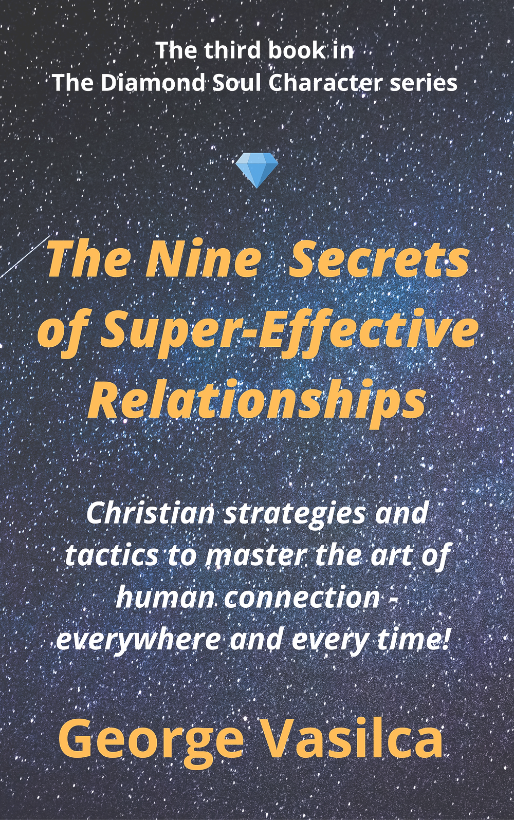 """The front cover of """"The Nine Secrets of Super-Effective Relationships"""""""